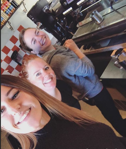 friendly baristas
